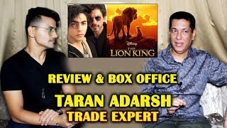 The Lion King Review | Box Office | Shahrukh & Aryan | Trade Expert Taran Adarsh Interview