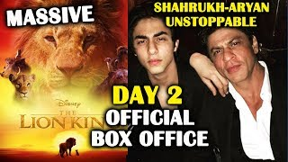 The Lion King | DAY 2 Official Box Office | Shahrukh Khan, Aryan Khan