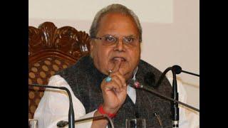 J&K Governor Satya Pal Malik clarifies on remark made on corrupt netas