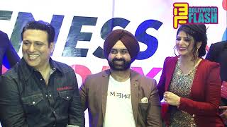 Govinda & Tina Ahuja At Fitness Factory & ProSlim Biggest Gym Inauguration