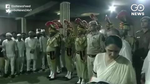 दिल्ली की पूर्व सीएम Sheila Dikshit, की अंतिम विदाई