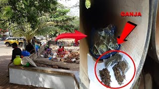 From Balloons To Ganja: Cops Find 45 Packets Of Ganja From Camap Slum Dwellers!