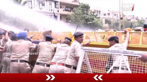 CBI Closure Report के खिलाफ Chandigarh में Protest कर सीखो को Police ने रोका