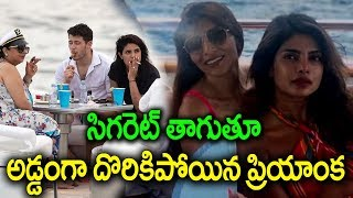 Priyanka Chopra smokes on yacht in Miami goes wiral I #priyankachopra I #miamibeach I rectv india