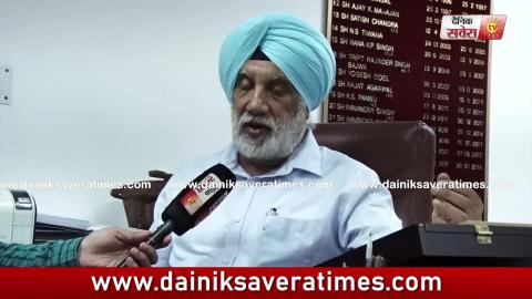 Exclusive Video Interview SS Marwaha Chairman pollution Board