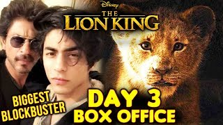 The Lion King INDIA | Day 3 Official Collection | Box Office | Shahrukh Khan | Aryan Khan