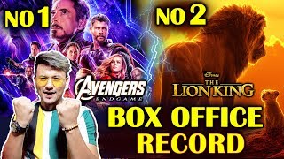 Avengers Endgame And The Lion King BOX OFFICE Record | Successful Films Of The Year