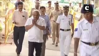 K'taka Floor Test: BJP MLAs head to Vidhana Soudha