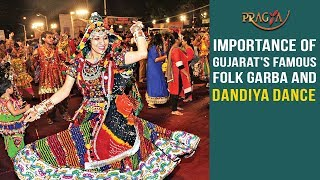 Watch Importance of Gujarat's Famous Folk Garba and Dandiya Dance