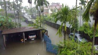Again flood is coming soon in Dhubri..Bhutan released water, Now Kokrajhar under water. heavy rain..