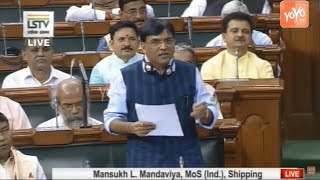 My answer to the Question on Inland Waterways in Lok Sabha