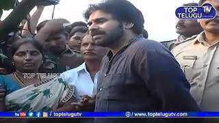Janasena Party Chief Pawan Kalyan Visits Ananthapur | Pawan Kalyan Speech Today | Top Telugu TV