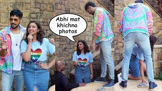 JABARIYA JODI Sidharth Malhotra And Parineeti Chopra Spotted Promoting Film