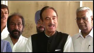 Ghulam Nabi Azad on the claims that PM Modi invited Trump to mediate on the Kashmir