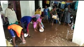 Water From Overflowing Sewage Chambers Enter 3 Houses In Vaddem-Vasco