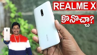 Realme x should i buy or not | full review telugu