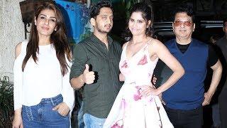 GIRLFRIEND Marathi Movie Special Screening   Raveena Tandon, Sai Tamhankar, Amey Wagh