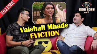 Sushant Shelar Reaction On Vaishali Mhade Shocking Eviction | Bigg Boss Marathi 2