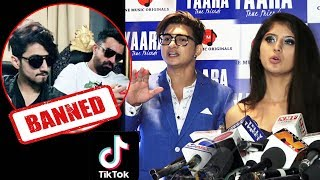 Tik Tok Star Arishfa Khan And Ajaz Ahmed Reaction On Mr.Faisu And Team 07 TIK TOK BANNED