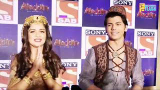 Avneet Kaur & Siddharth Nigam Having Fun On Set - Aladdin Naam To Suna Hoga Serial