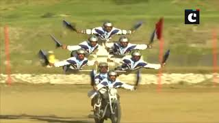 Vijay Diwas: Indian soldiers display amazing bike stunt in J&K'S Dras