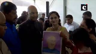 President Kovind interacts with gifted children