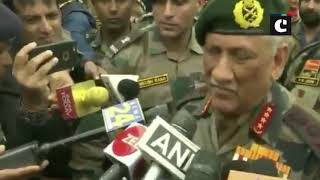 Army Chief General Bipin Rawat warns Pakistan army, 'not to attempt any misadventure in future'