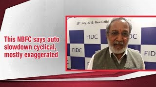 This NBFC says auto slowdown cyclical, mostly exaggerated