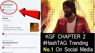 KGF Chapter 2 HashTag Trending Number 1 On Social Media, How KGF Changed Everyone Including Critic