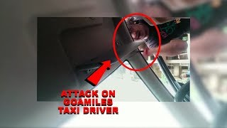 GoaMiles V/s Local Taxi: Attack On GoaMiles Driver Caught On Camera