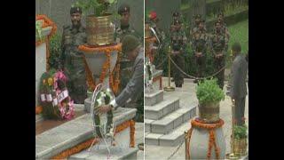 President Ram Nath Kovid pays tribute to the Kargil martyrs