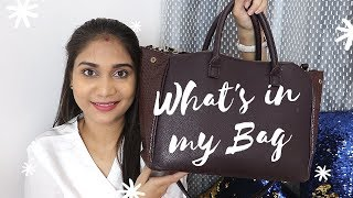 What's in My Bag? My Essentials on the run ! | Nidhi Katiyar