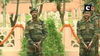 Kargil Vijay Diwas: Birender Singh, Bipin Rawat, Admiral Karambir pay tribute at Kargil War Memorial