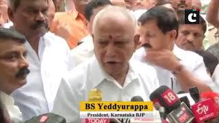 Will meet Governor to stake claim to form govt in Karnataka: BS Yeddyurappa