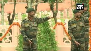 कारगिल विजय दिवस: तीनों सेना प्रमुखों ने कारगिल वार मेमोरियल में शहीदों को दी श्रद्धांजलि