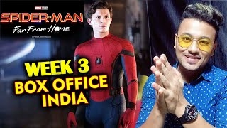 SpiderMan Far From Home 3rd WEEK Collection INDIA | Official Box Office | Tom Holland