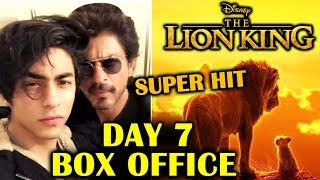 The Lion King INDIA | Day 7 Official Collection | Box Office | Shahrukh Khan | Aryan Khan
