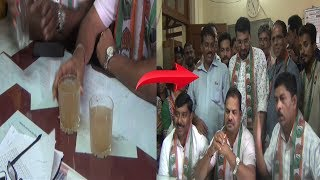 Mapusa Block Congress Gherao Officials Over Muddy Water