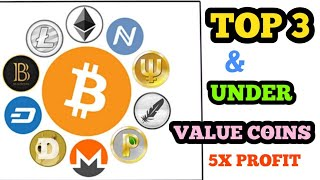 TOP 5 UNDER VALUE COINS || 2X to 5X RETURN || BEST 5 COINS