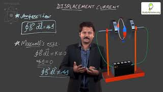 Electromagnetic Waves Displacement Current | Physics for JEE NEET & AIIMS