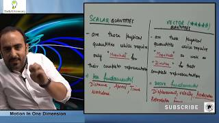 Motion in One Dimension | Physics for Class IX by Prof. Sameer Kohli