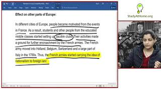 Nationalism in Europe   Social Science (History) for Class X by Prof. Saloni Jain