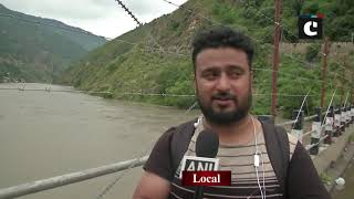 Chenab River flows above danger mark in J&K's Doda
