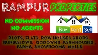 RAMPUR   PROPERTIES - Sell |Buy |Rent | - Flats | Plots | Bungalows | Row Houses | Shops|
