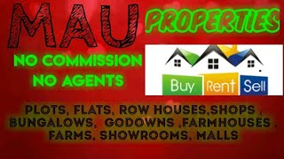 MAU   PROPERTIES - Sell |Buy |Rent | - Flats | Plots | Bungalows | Row Houses | Shops|