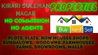 KIRARI SULEMAN  NAGAR    PROPERTIES - Sell |Buy |Rent | - Flats | Plots | Bungalows | Row Houses | S