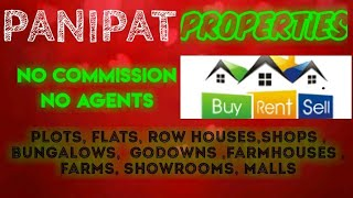 PANIPAT   PROPERTIES - Sell |Buy |Rent | - Flats | Plots | Bungalows | Row Houses | Shops|