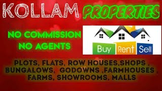 KOĹLAM  PROPERTIES - Sell |Buy |Rent | - Flats | Plots | Bungalows | Row Houses | Shops|