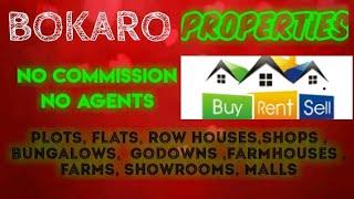 BOKARO   PROPERTIES - Sell |Buy |Rent | - Flats | Plots | Bungalows | Row Houses | Shops|