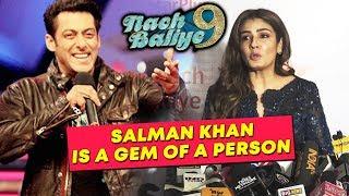 Salman Khan Is A GEM Of A Person | Raveena Tandon On Judging Nach Baliye 9 | Success Party